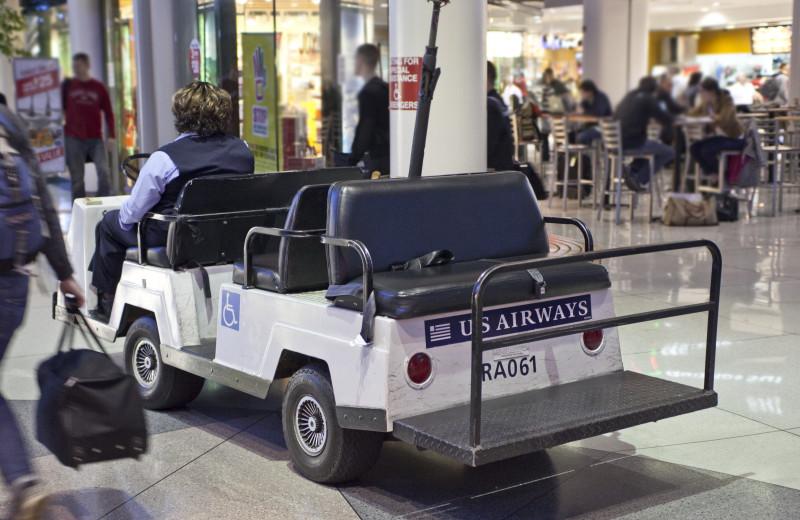 Airportgolfcart Inflight