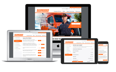 Schneider National Goes Live with a World Class Candidate Experience Powered by InFlight