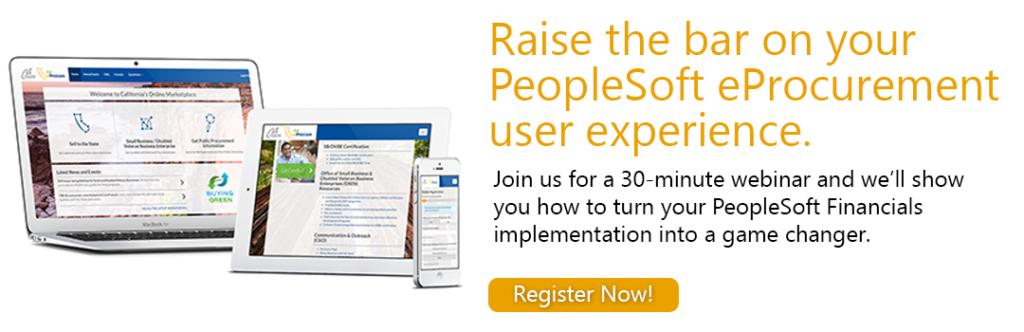 Join Our PeopleSoft eProcurement Webinar