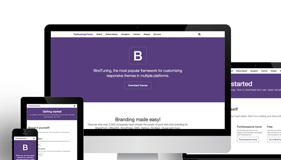 Mobilize your sharepoint intranet with bootstrap for Bootstrap intranet template