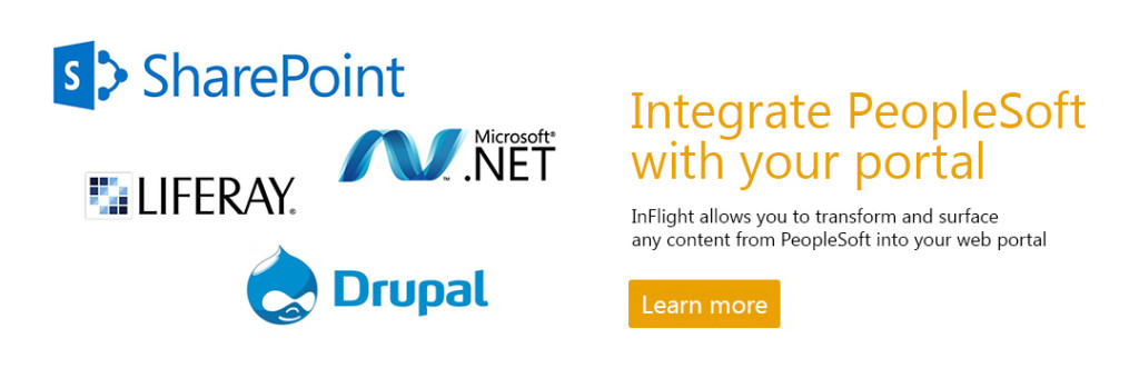 Integrate PeopleSoft into your Portal